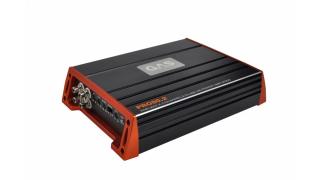 GAS PRO 80.2 är ett tvåkanalssteg som lämnar 2x80W RMS i 4 ohm.