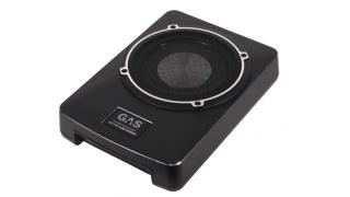 """GAS GS1080A10"""" aktiv baslåda i slimmat utförande!"""