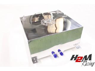 50 Liter Aluminium Drag Race2 Fuel Cell -Billet tanklock- AN10