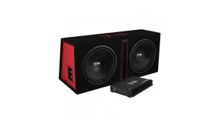 Bass Habit Play 212 2x12tum med Bass Habit Play Power 600.1