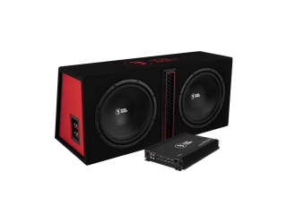 Bass Habit Play 212 2x12tum med Bass Habit Play Power 600.1