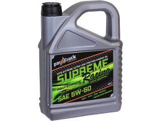 #376 4L Supreme Racing SAE 5W-50
