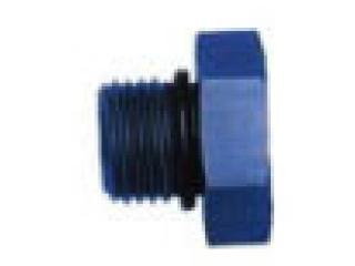 AN 6 Plugg Blå