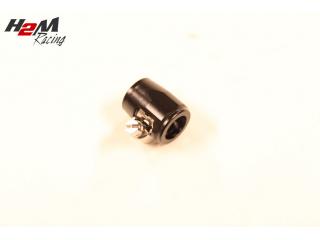 AN6 / 16mm Slangklämma Aluminium Svart