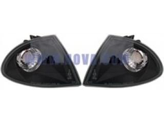 Framblinkers Svart E46 4D