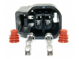 Kontaktdon 2-polig hylsdon Nippondenso, Låsning på sidan