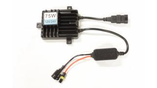 12V-24V 100W (82W uppmätt effekt) Slim Xenon Ballast
