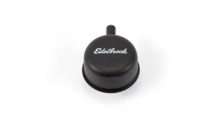 Edelbrock Vevhusvent svart med 13mm pip