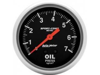 Sport Comp Oljetryck mekanisk 0-7kg/cm2 67mm diameter