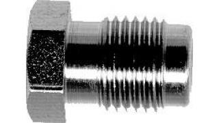 Bromsrörsnippel M:10x1 för 5,0mm rör