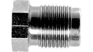 Bromsrörsnippel M:12x1 för 5,0mm rör