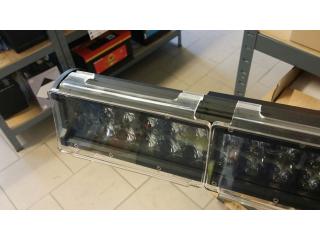 * LED-XtrM Stenskottskydd Extraljusramp