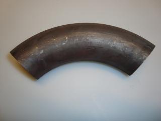 Grenrörsböj svartstål långradie 48,3mm x 2,6mm
