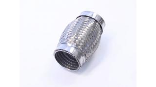 """Flexrör interlock 44,5mm 1,75"""" Längd 100mm"""