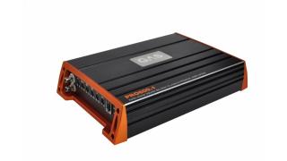 GAS PRO 600.1 är ett monoblock som lämnar 600W(RMS) @ 1 ohm
