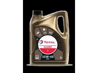 5L   Motorolja Total Classic 5L SAE 15W-40
