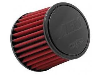 AEM Luftfilter Dryflow = utan filterolja. Litet 70mm