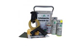 1:a storsäljare! Renoverings sats för Strålkastare med UV-klarla