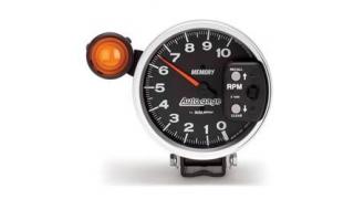 "Auto gage Monster Memory Tachometer 5"""