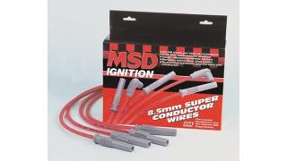 MSD Tändkabel 8.5mm V8 rak mot tändstift