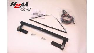 BMW 5-serien Extraljusfäste för 3 lysen komplett med kabelsats