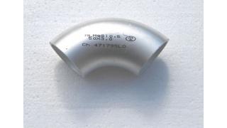 45x3 Aluminium rörböj