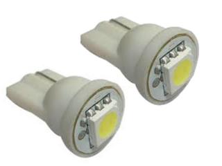 Diodlampa T10 1xSMD VIT lampa för positionsljus 2 Pack