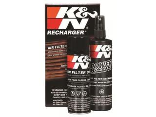 K&N filterrengöringssats samt olja