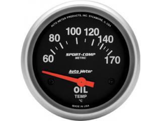 Sport Comp Oljetemp elektrisk 60-170 C 67mm diameter