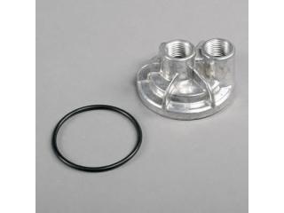 Trans-Dapt Oljefilterflyttare för 13/16-16 gängat filter. (Chevrolet LS Smallblock))