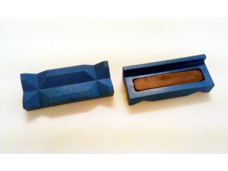 Plastbackar för skruvstäd