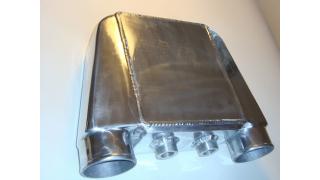 Vattenkyld intercooler 220x250mm Cellpaket