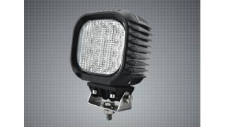LED Arbetsbelysning 125mm 48W Fyrkantig