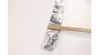 32mm 1M längd  Kabel / Slangskydd
