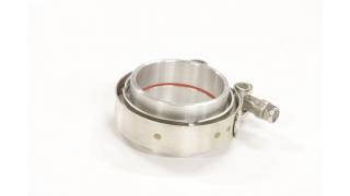 76mm Fast V-Band för aluminiumrör / tryckrör