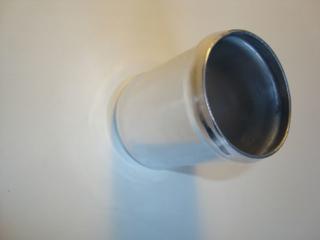 57mm rak Aluminiumrör längd 70mm