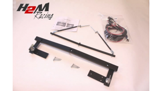 BMW 3-serien Extraljusfäste för 3 lysen komplett med kabelsats