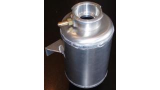 Expansions kärl i aluminium med 16mm bottenanslutning