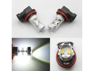 Diodlampa H9 30W för dimljus 2 Pack