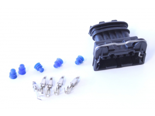 Kontaktdon 5-poligt hylsdon Bosch JPT (tändmodul, Audi TPS)