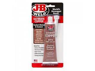 JB Weld Ultimate Copper Silicone – Packning/Tätning 85gr
