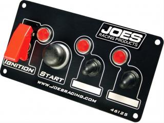 Panel Joes Racing Tändning start 2x strömbrytare