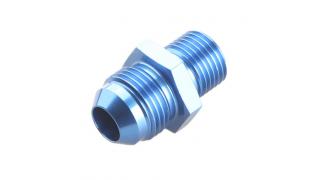 AN8 till M18x1,5mm adapter Blå