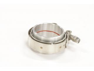 64mm Fast V-Band för aluminiumrör / tryckrör