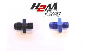 AN6 till M12x1,5mm adapter Blå