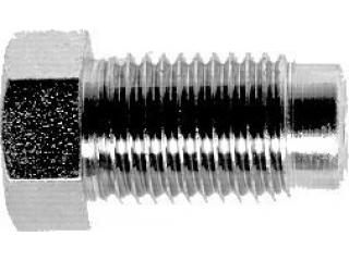 Bromsrörsnippel 3/8x24UNF för 5,0mm rör