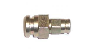 Nippel M10x1 hona konvex (Fastsättning med clips)