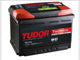 Tudor Technica 74Ah 278x175x190mm