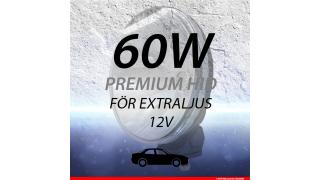 60W  Extraljussats Xenon