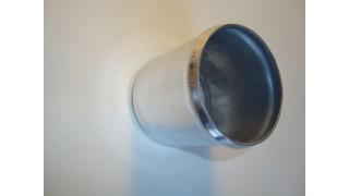 64mm rak Aluminiumrör längd 70mm